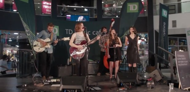 TD music cafe, West Edmonton Mall, Alex Vissia