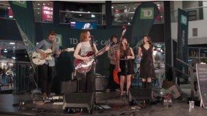 TD music cafe, West Edmonton Mall, Alex Vissia