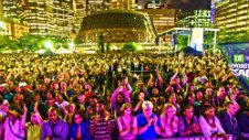 Le Festival de jazz de Toronto TD, le plus grand rendez-vous musical de la ville.
