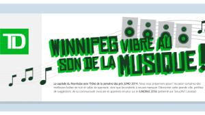 Prix JUNO 2014, Winnipeg