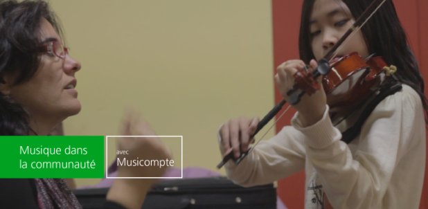 Programme de subventions de musique Musicompte
