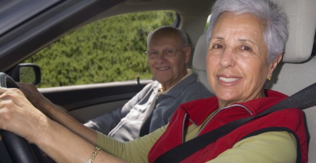 Seniors are Safe Drivers