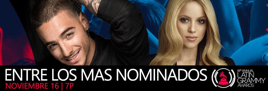 los mas nominados