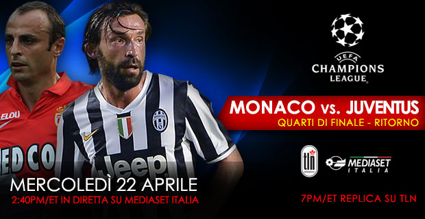April 22 Monaco Vs Juventus
