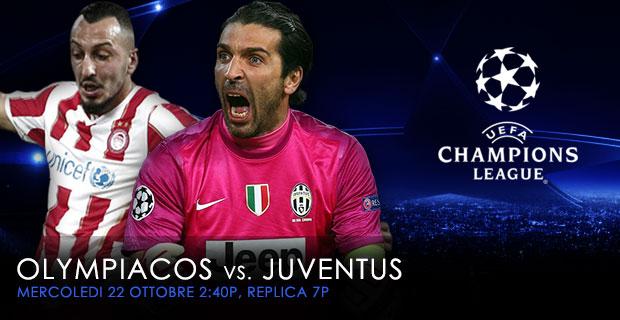 Oct 22 Olympiacos vs Juventus