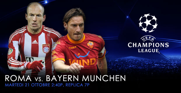 Oct 21 - Roma vs Bayern