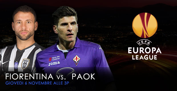 Nov 6 Fiorentina vs POAK