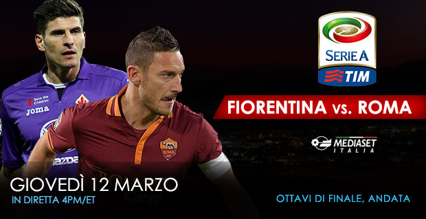 March12 Fiorentina vs Roma