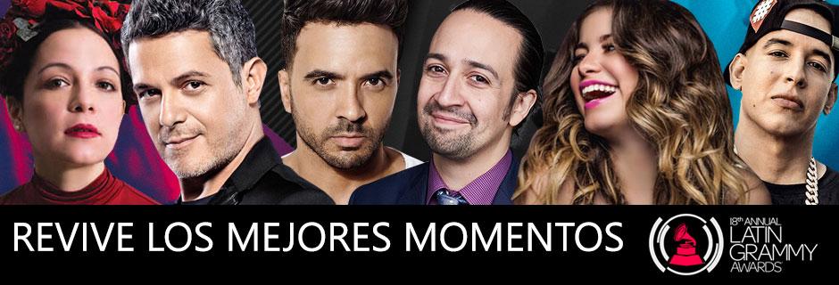 Latin Grammy 2017 Revive