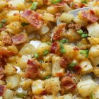 Lidia's Italy Live Asiago Cheese Crisp with Potato and Sausage