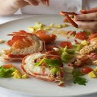 Lidia's Italy - Lobster Salad with Fresh Tomatoes