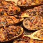 Lidia's Italy - Meat Stuffed Eggplant