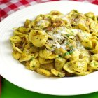 Lidia's Italy - Orecchiette with Artichokes and Bacon