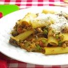 Lidia's Italy - Rigatoni Woodsman Style