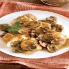 Lidia's Italy Live Skillet Gratinate of Mushrooms and Chicken