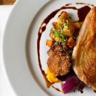 Stefanos' Cooking Paradiso BRAISED GUINEA FOWL