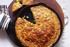Pati's Mexican Table - POBLANO, BACON & CHEDDAR SKILLET CORNBREAD