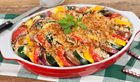 In the kitchen With Stefano Faita - Roasted Ratatouille Casserole
