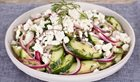 In the kitchen With Stefano Faita - Feta & Cucumber Salad