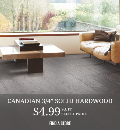 Canadian 3/4 Solid Hardwood
