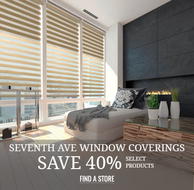 Seventh Ave Window Coverings Save 40% Select Products