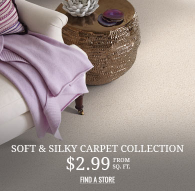 Soft and Silky Carpet Collection from $2.99 sq ft
