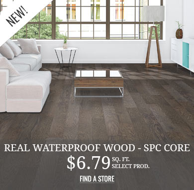 Waterproof Wood SPC Core
