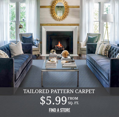 Tailored Pattern Carpet from $5.99 sq.ft.