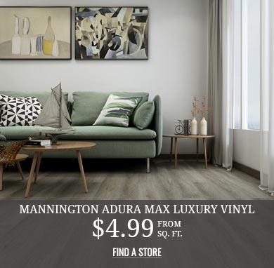 Mannington Adura Max Luxury Vinyl Plank and Tile from $4.99 sq.ft.