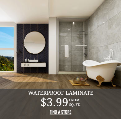 Waterproof Laminate from $3.99 sq.ft.