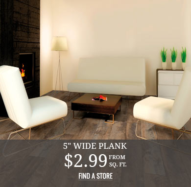 5in Wide Plank from $2.99 sq.ft.