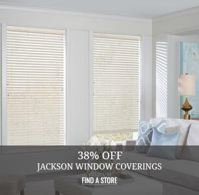 38% off Jackson Window Coverings