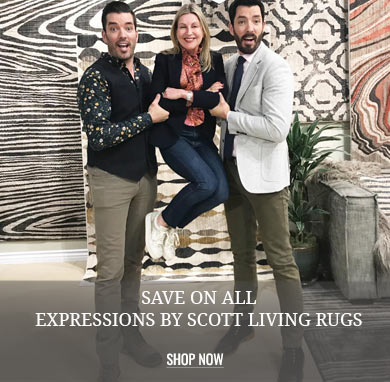 Save on ALL Expressions by Scott Living Rugs
