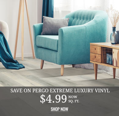 NEW! Pergo Extreme Rigid Luxury Vinyl from $6.49 sq.ft.