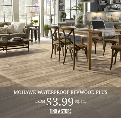Waterproof Laminate RevWood from $3.99 sq.ft.