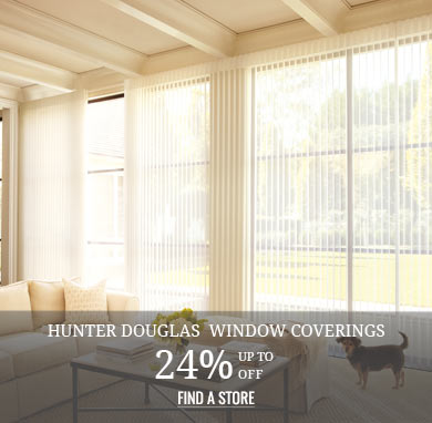 Up to 24% off Hunter Douglas Window Coverings
