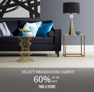 Up to 60% off Broadloom Carpet