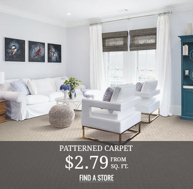 Patterned Carpet from $2.79 sq.ft.