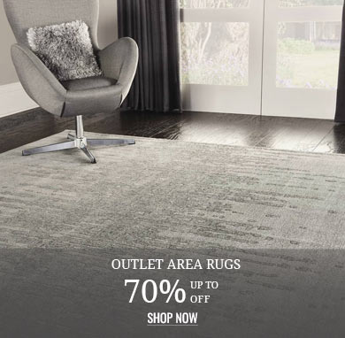 Up to 70% off Outlet Rugs