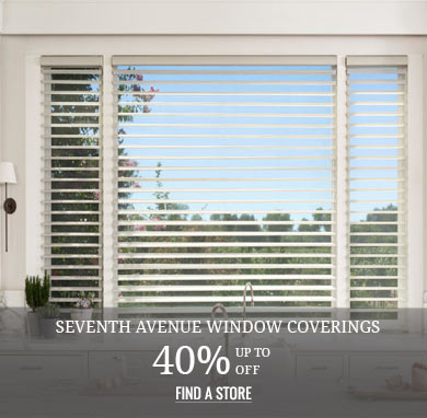 Up to 40% off Seventh Avenue Window Coverings