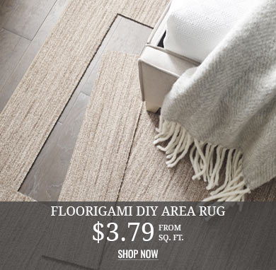 Floorigami DIY Area Rug from $3.79 sq.ft.