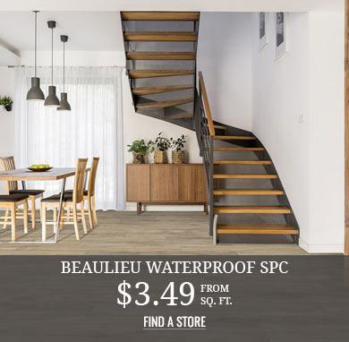 Beaulieu Waterproof SPC from $3.49 sq.ft.