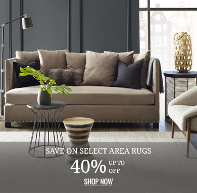 Up to 40% off Area Rugs