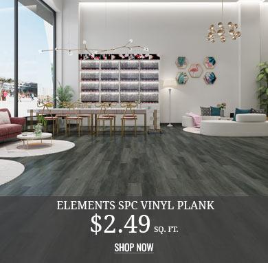 Elements Vinyl Plank $2.49 sq.ft.