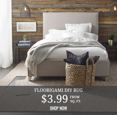 Floorigami DIY Rug from $3.99 sq.ft.