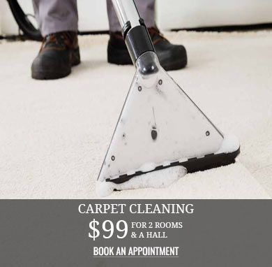 Carpet Cleaning $99 for 2 Rooms and a Hall