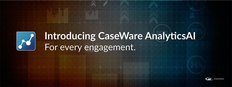 CaseWare AnalyticsAI