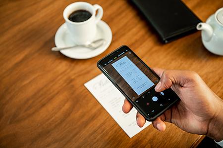 SAP Concur Expense mobile