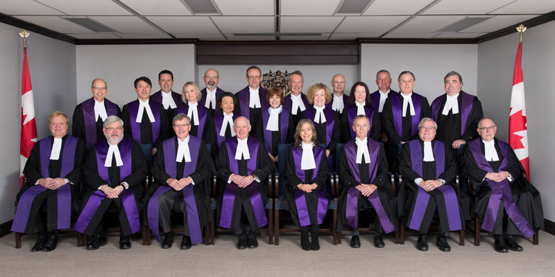 Tax Court of Canada justices