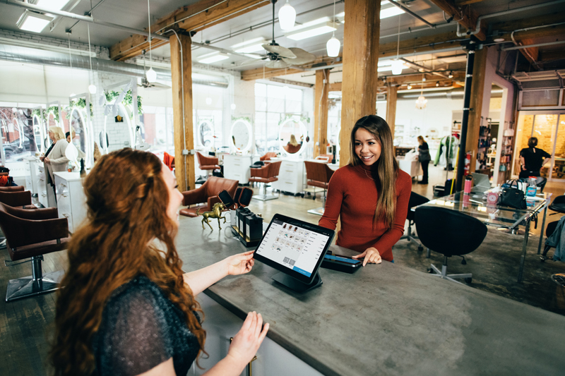two women, small business